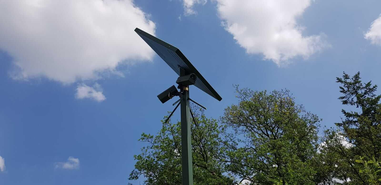 Camera en zonne energie 1