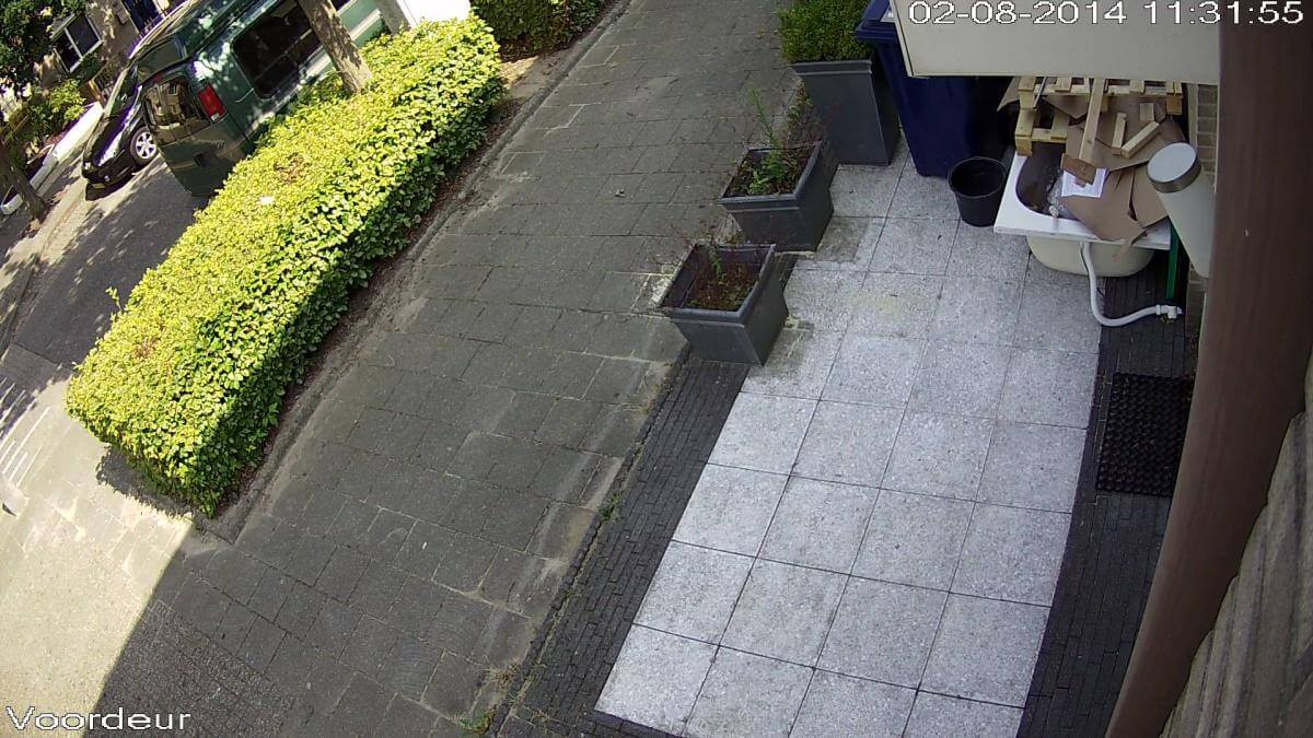 Camera overzicht straat - Megasnel