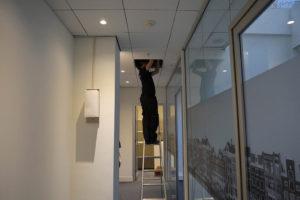 Montage monteur plafond - Megasnel