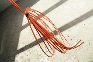 Cat6 netwerk kabels trekken