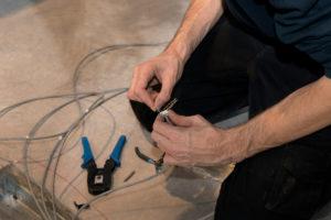 UTP kabel monteren