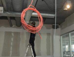 Netwerk aanleg en bekabeling