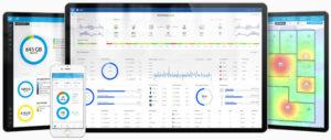 Interface van een Ubiquiti Specialist aan het werk