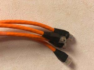 UTP kabels afmonteren