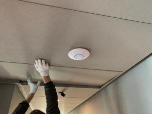 Unifi wifi zender en accesspoint installatie 8