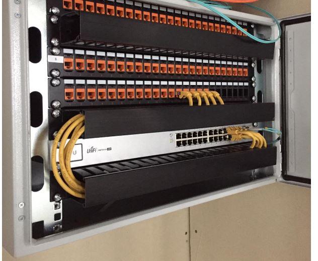 utp netwerk aanleggen en bekabelen