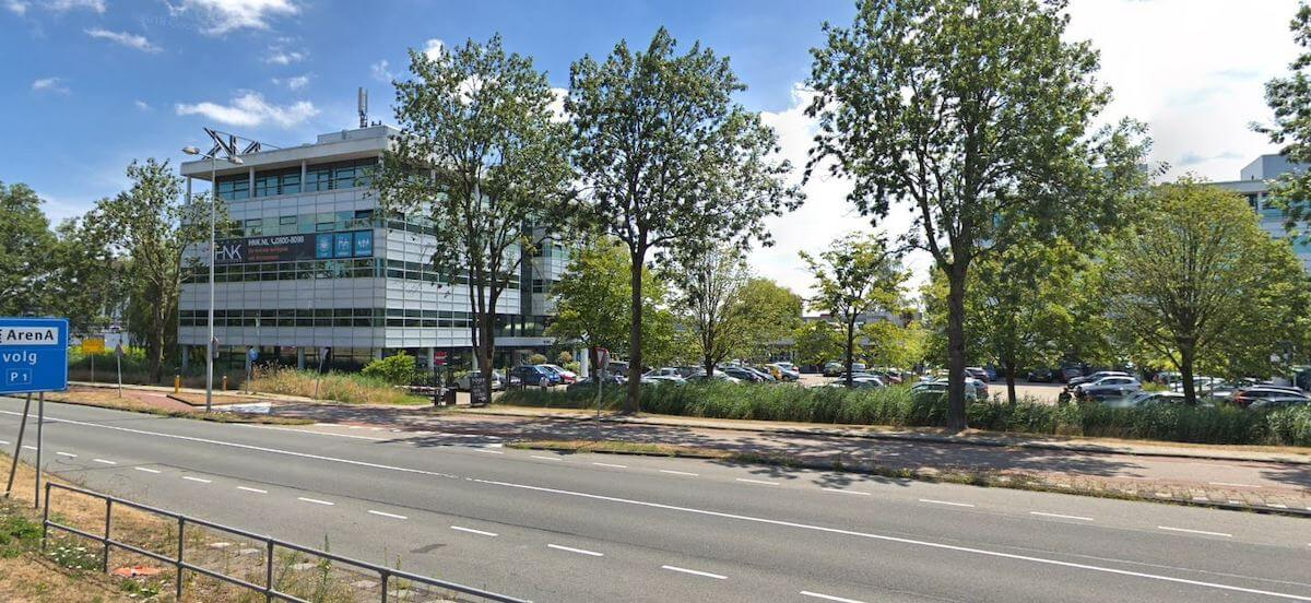 Amsterdam- netwerk bekabeling