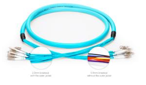 Extra dikke glasvezel kabels op maat