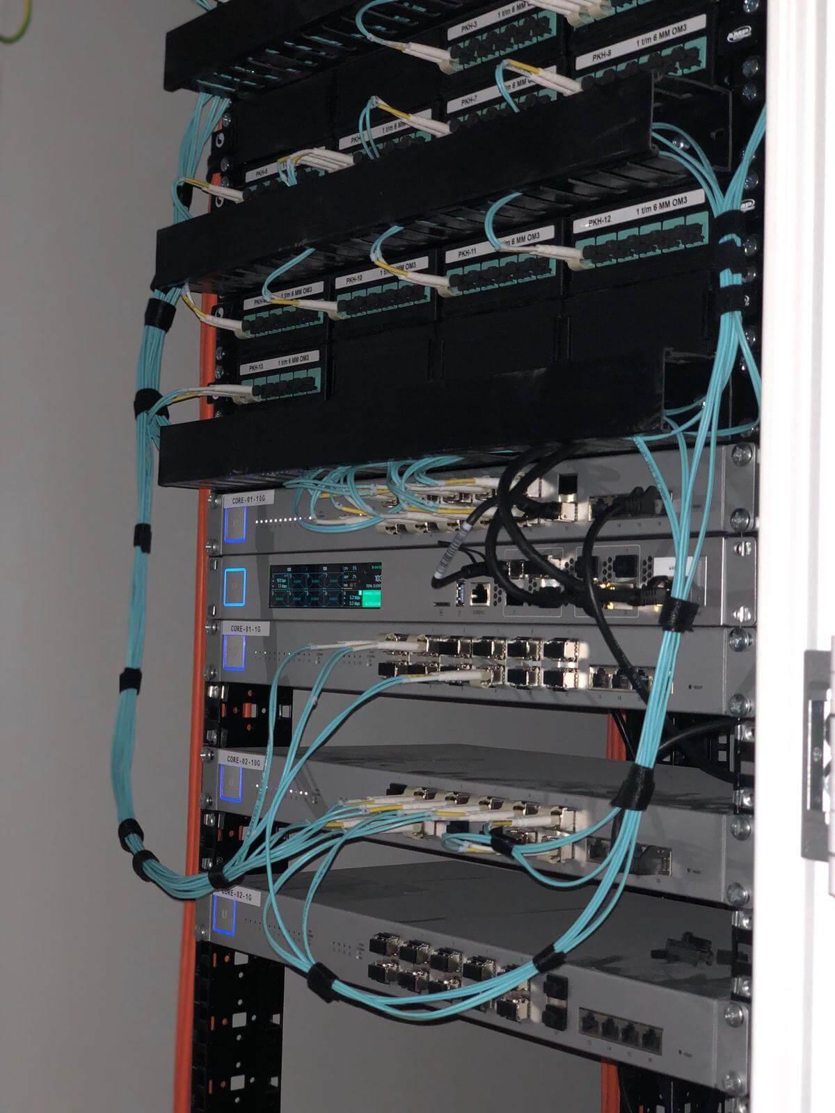 Unifi netwerk installatie