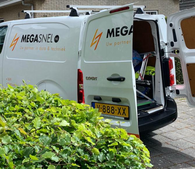Megasnel.nl werkbus ( installatie monteur )