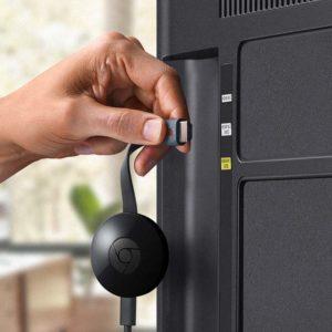 Chromecast in hotel installeren