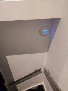 Unifi in trappenhuis 1