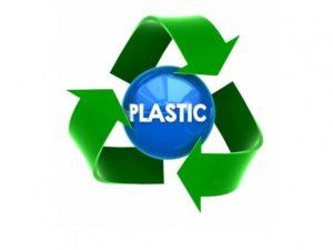 Plasic recycle logo