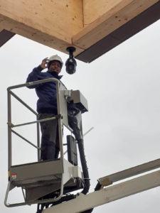 Dahua DSS en PSS installatie met dome camera keukenhof lisse camerabewaking project installatie