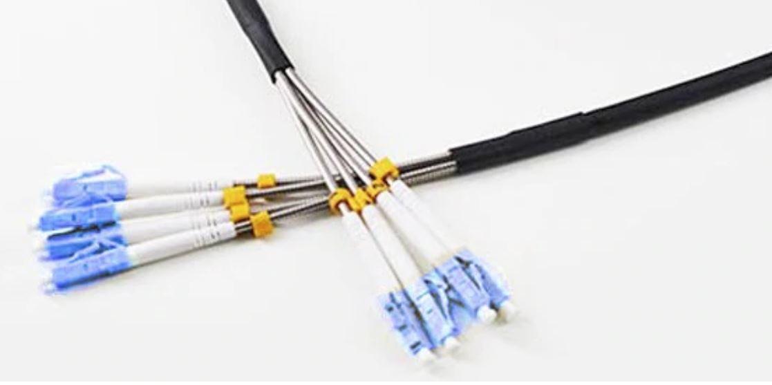 glasvezel in de grond speciale kabel